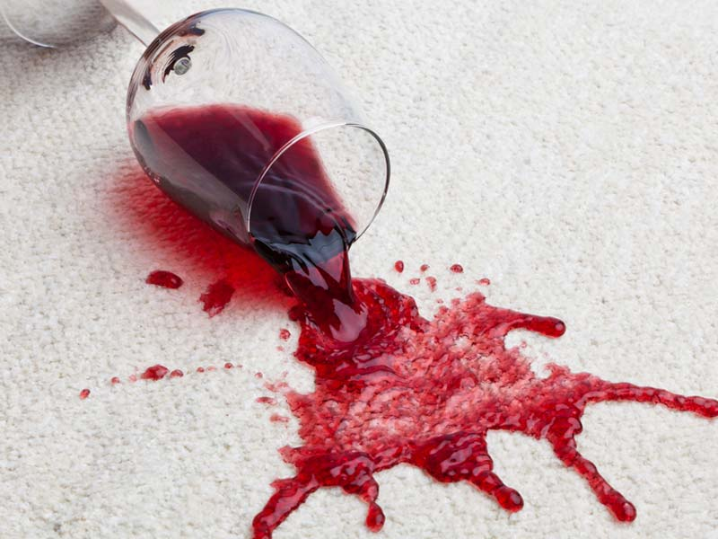How to Get Red Wine Out of Your Carpet