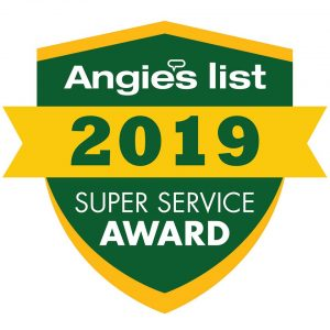 Top-rated carpet cleaning company awarded Angie's List Carpet Cleaning Super Service Award