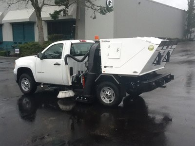 Parking Lot Sweeping in Eugene, Springfield, Corvallis, Albany, & Salem OR